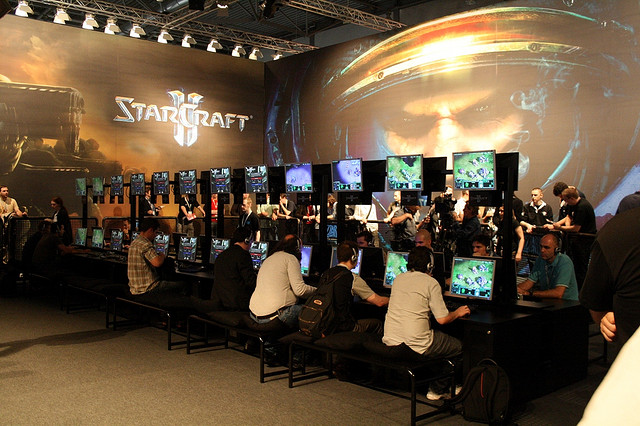Starcraft 2 is an online, real-time strategy, computer game. (Credit: Wlodi, Flickr.com)
