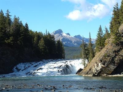 Bow Falls, Banff, Alberta. Credit: Tim Redpath, via Flickr