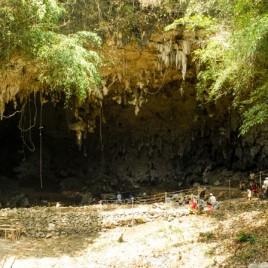 Liang Bua, a limestone cave on the Indonesian island of Flores. (Image credit: Liang Bua Team)