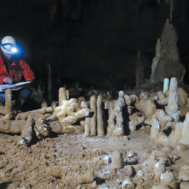 Researchers believe the stalagmite rings could either form part of a refuge or serve a symbolic purpose. (Ja