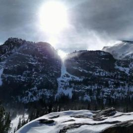 Winter sun over the Rockies (Image by Sleep and Chronobiology Lab, University of Colorado Boulder)