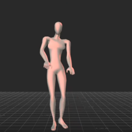 Hip swing and asymmetric movements of the thighs and arms are all traits of a good dancer, according to the respondents (et al.)
